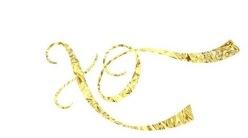 Golden foil
